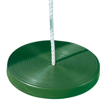 Playtime Swing Sets Disc Swing with Rope - Green