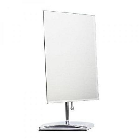 Leju Makeup Mirror  Adjustable Rectangular Luxury Tabletop Makeup Mirror