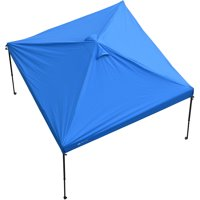 Ozark Trail 10' x 10' Canopy Replacement Cover for Straight Leg Canopies, Blue [Frame Sold Separately]