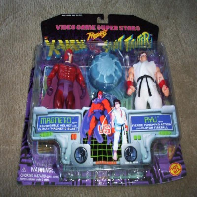 Video Game Super Stars Presents X-Men VS. Street Fighter Capcom, Magneto Vs. Ryu by