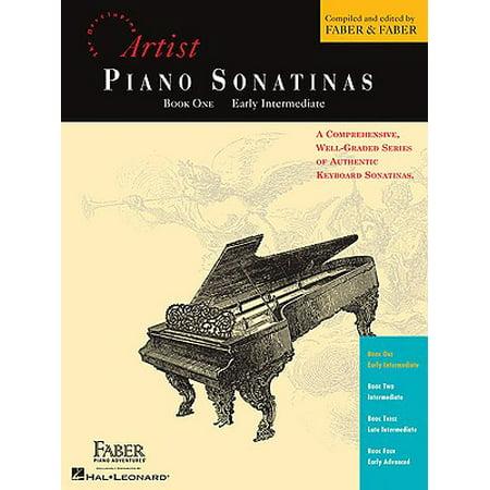 Early Intermediate Piano (Artist Piano Sonatinas, Book One, Early Intermediate)