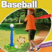 Arshiner Toddler Kids Baseball Bat Toys T-Ball Set Tot Sports With 2 balls by