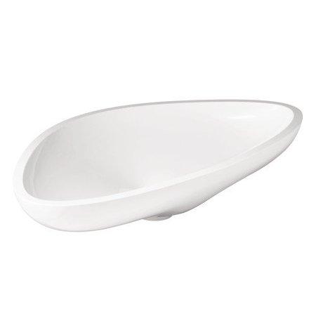 Wide Vessel Sink : Hansgrohe Axor Massaud Large Bathroom Vessel Sink - Walmart.com
