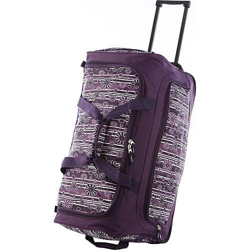 Olympia 26'' Fashion Rolling Duffle Bag