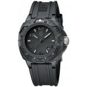 Luminox Men's Sentry Blackout Military Diver's Watch 0201.BO
