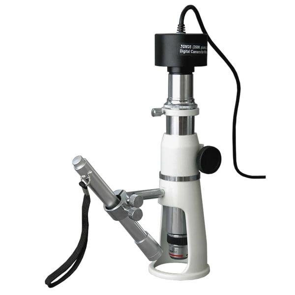 AmScope 20X & 50X Shop Measuring Microscope + 3MP Digital...