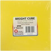 Hygloss Bright Cube Paper Pad