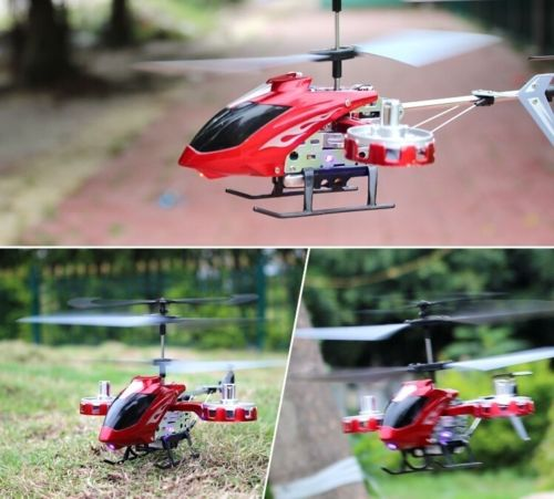 Mini-LED-Light-AVATAR-Z008-4CH-2-4G-Metal-RC-Remote-Control-Helicopter-GYRO-RTF by Microgear