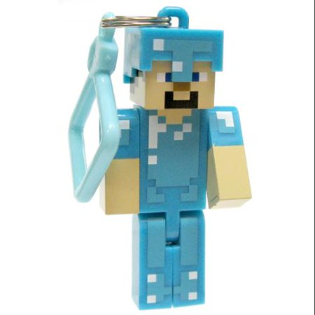 Minecraft Hangers Series 2 Diamond Steve 3 Keychain [Loose]
