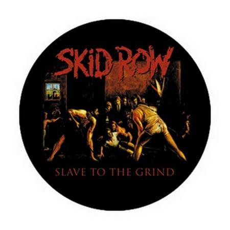 Skid Row Slave Button B-3026