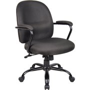 Boss Office & Home Heavy Duty Task Chair with Padded Arms