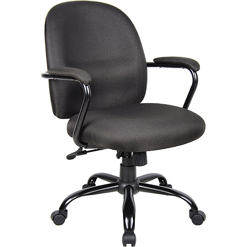 Nice Boss Heavy Duty Task Chair With Padded Arms