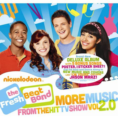 The Fresh Beat Band: Vol. 2.0 More Music From The Hit TV Show (Deluxe Edition) Soundtrack (2CD) ()