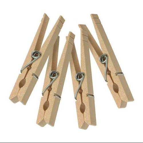 HONEY-CAN-DO DRY-01376 Clothespins, Wooden, Pk 100