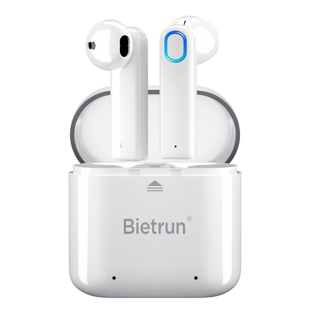 Bluetooth Wireless Earbuds Update Bluetooth 5 0 Wireless Headphones With Built In Mic And Charging Case Hands Free Calling Sweatproof In Ear Headset Earphone Earpiece For Iphone Android Smart Phones Walmart Com Walmart Com