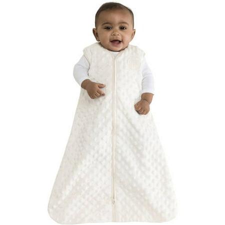 HALO SleepSack Wearable Blanket, Plush Dot Velboa