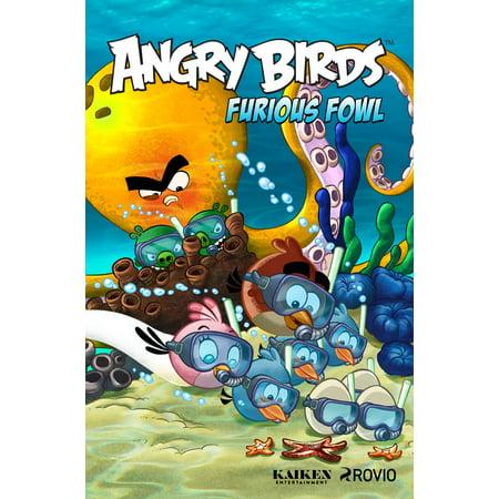 Angry Birds Comics: Furious Fowl - Angry Birds Halloween Comic Book
