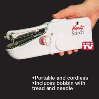 As Seen on TV Cordless Stitch Handheld Portable Sewing Machine