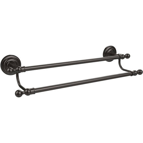 "Que New Collection 24"" Double Towel Bar (Build to Order)"