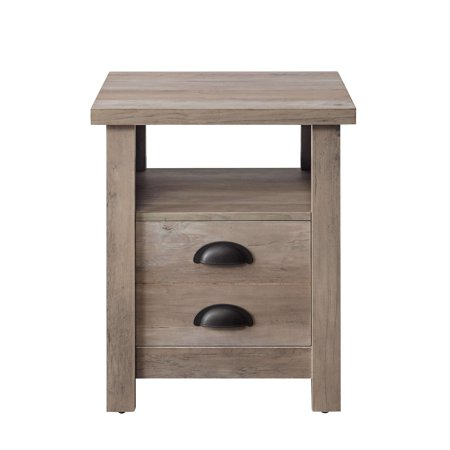 Better Homes and Gardens Granary Modern Farmhouse End Table, Multiple Finishes