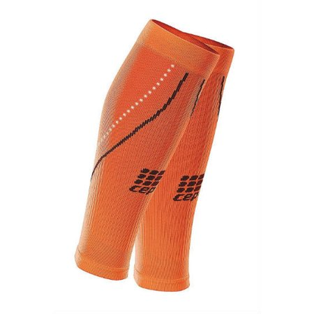 b6644c348b CEP Progressive+ Night Compression Calf Sleeves 2.0 Men's Flash Orange Size  3 - Walmart.com