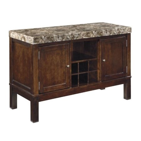 Ashley Kraleene Buffet Table In Dark Brown Walmart Com