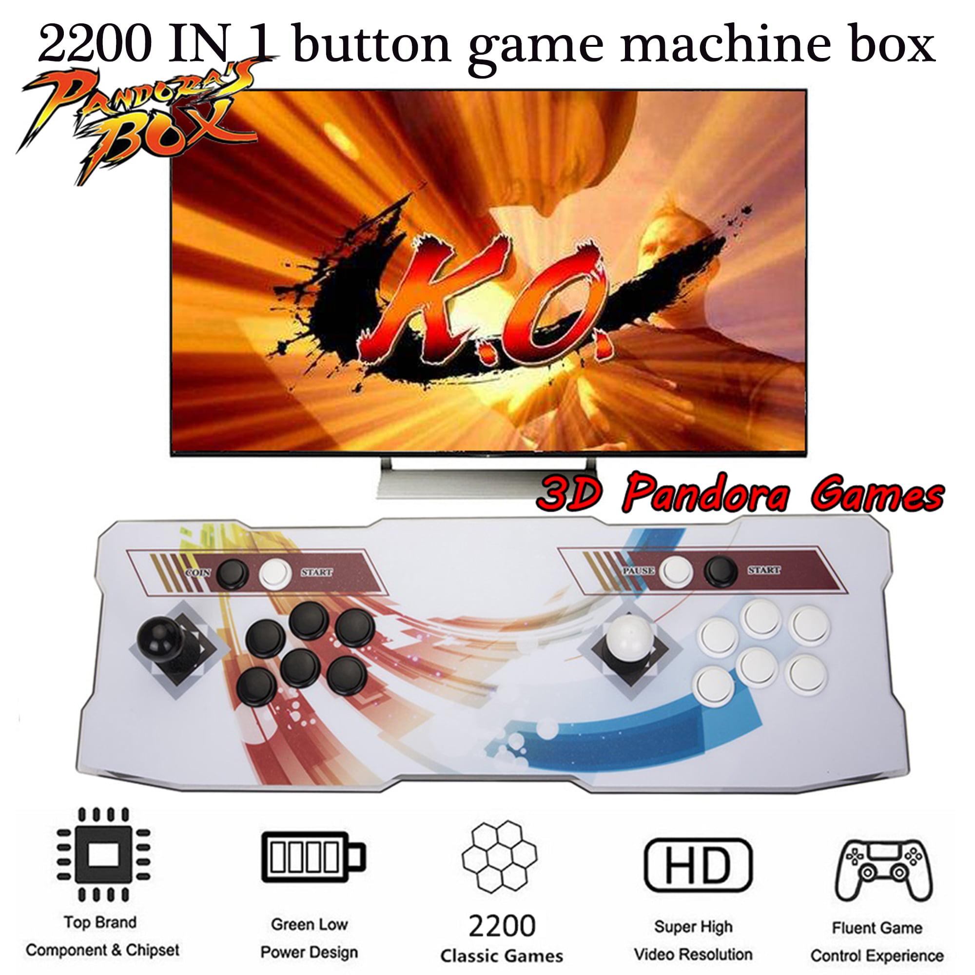 NK 3D Pandora Arcade Game Console 2200 IN 1 HD Retro Games Multiplayer Home Players Joystick Arcade Machine