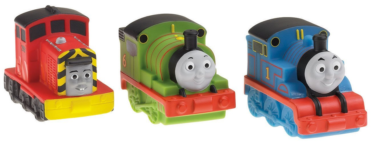 Fisher Price Thomas And Friends Bath Squirters (3 Pack, Styles May ...