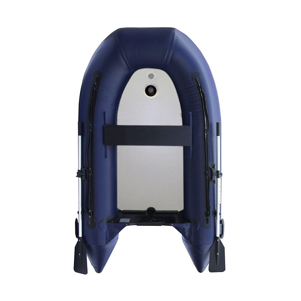 ALEKO Inflatable Air Floor Fishing Boat - 8.4 Foot - Blue
