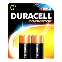 Duracell Alkaline Batteries Mn1400B2, Size: C  - 2  Each X 8 Pack