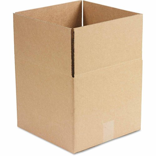 """General Supply Brown Corrugated, Fixed-Depth Boxes, 12"""" x 12"""" x 10"""", 25 per Bundle"""