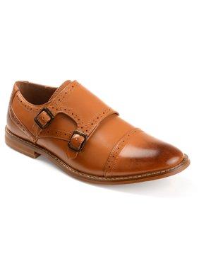 Daxx Men's Bruce Monk Strap Dress Shoe