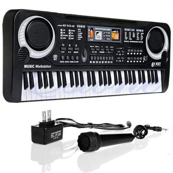 61 Key Children's Digital Keyboard Music Piano Keyboard for Adults Or Children Beginners... by konxa