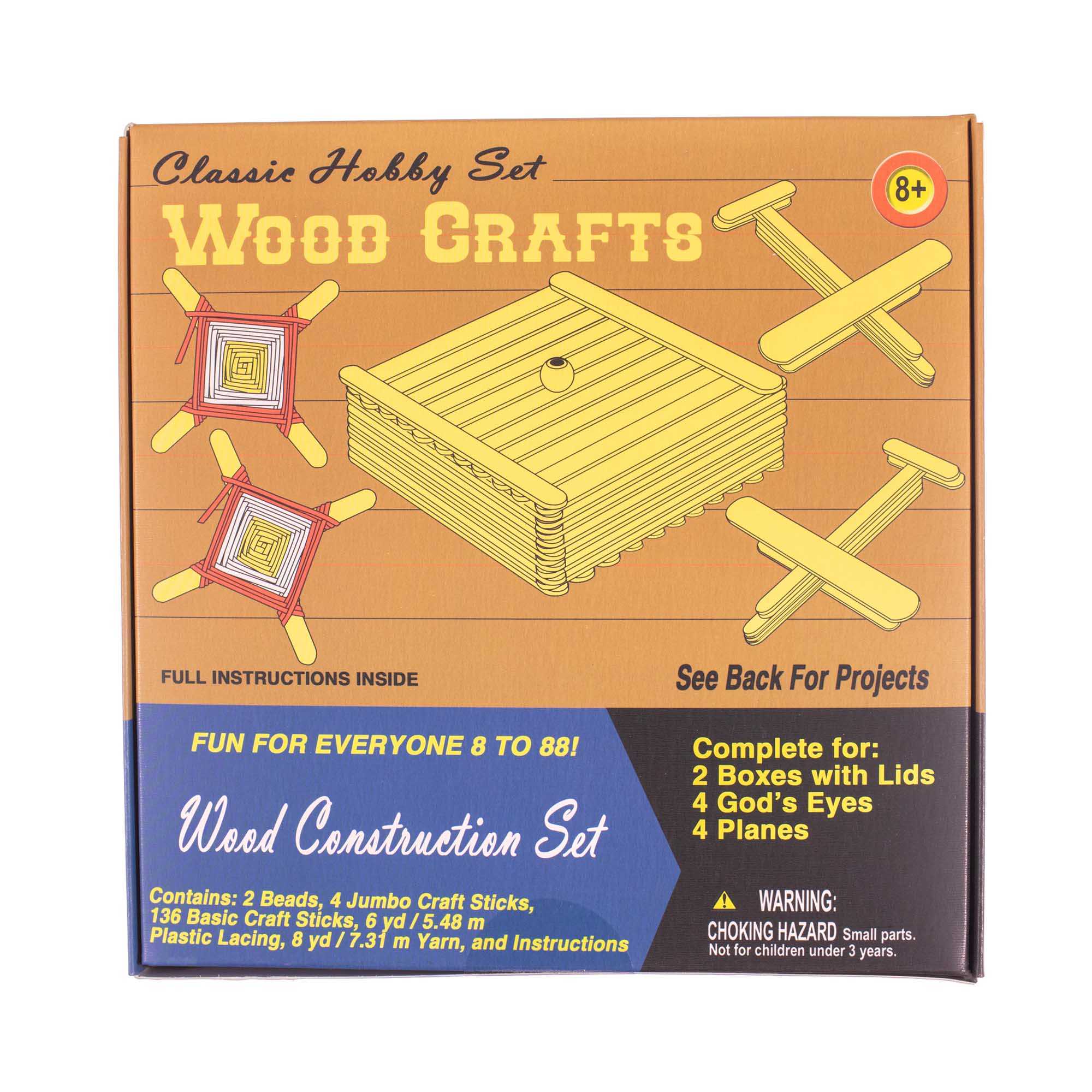 Retro Crafting Kits Choose From 5 Different Crafting Kits Make Bracelets Dream Catchers Airplanes Keychains And Much More Walmart Com Walmart Com