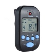 Professional Clip on Digital Beat Tempo Metronome LCD Screen Lightweight & Mini for Violin Guitar Bass Musical Instrument Black