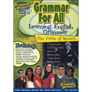 Standard Deviants: Grammar For All Learning English Grammar The Parts Of Speech by CEREBELLUM CORPORATION
