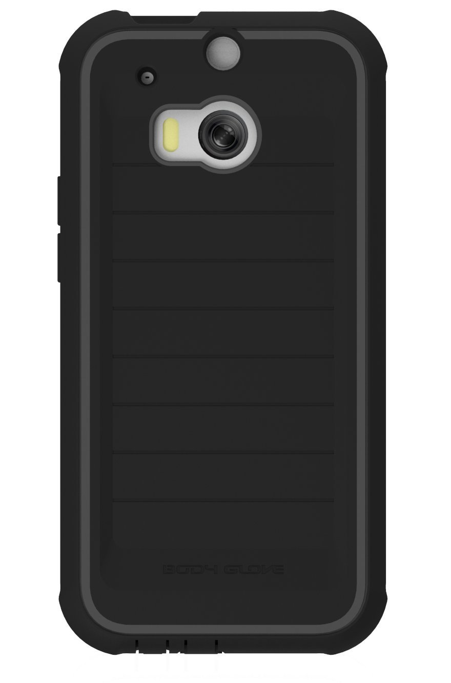 Body Glove ShockSuit Case Cover HTC One (Black Charcoal) 9406001 by Body Glove