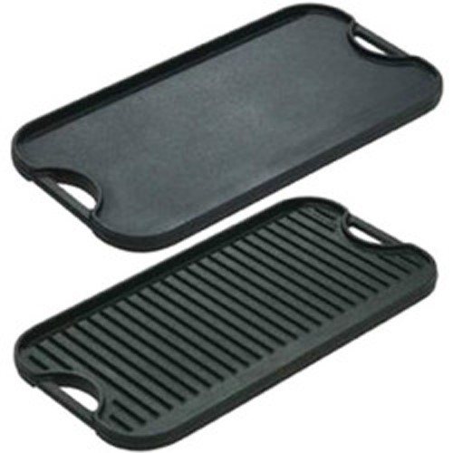 "Lodge 20"" Cast Iron Reversible Griddle LPGI3 by Lodge Mfg Co"