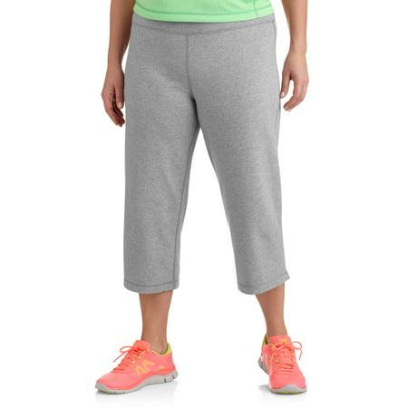 e5d1796a5e5 Danskin Now - Womens Plus Size Dri More Core Capri Pants - Walmart.com