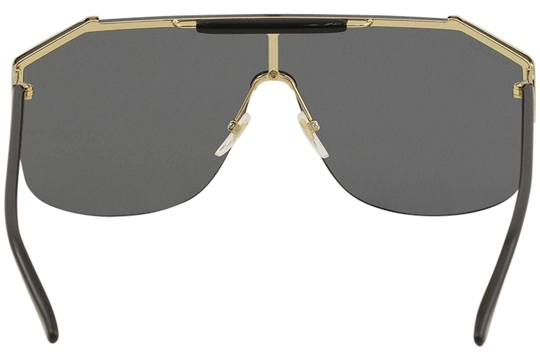 b0b6353ff5e55 Gucci - Gucci GG0291S Mens Metal Shield Sunglasses - Walmart.com