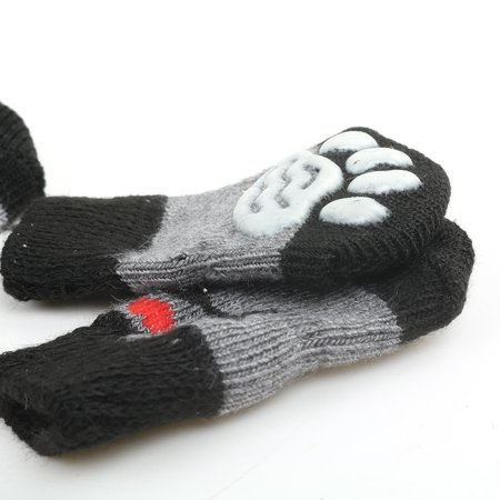 Homeholiday 4pcs Pet Socks Doggie Dog Cat Puppy Colorful Anti Slip Pet Product Supply - image 7 of 7