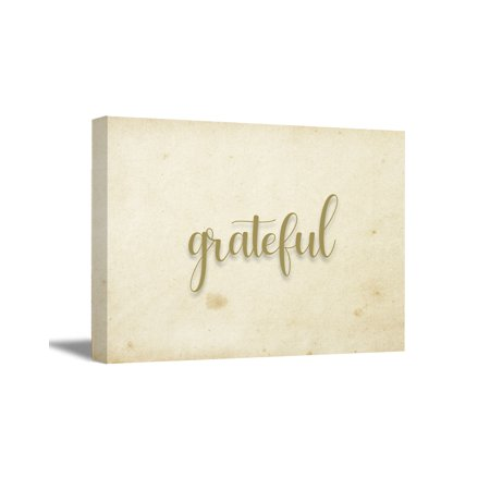 Awkward Styles Grateful Canvas Wall Art Inspirational Quotes Wall Decor Motivational Wall Art Home Decor Gifts Living Room Decor Religious Gifts