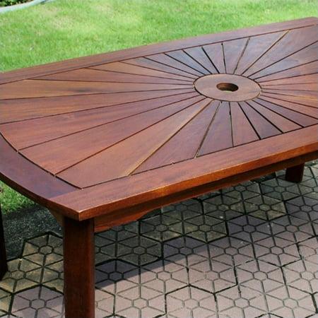 Pemberly Row Sunrise Patio Coffee Table - image 1 of 2