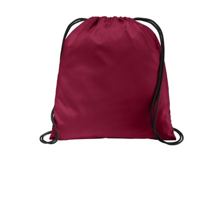 Port Authority® Ultra-Core Cinch Pack. Bg615 Cardinal Osfa - image 1 of 1