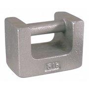 RICE LAKE Calibration Weight (w/cert), 5 lb 12823TR