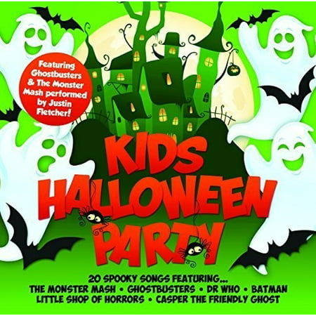 Kids Halloween Party / Various (CD) - Halloween Music Collection Cd