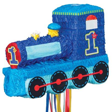1st Birthday Pinatas (1st Birthday Train Pinata )