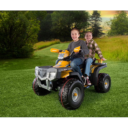 Peg Perego Polaris Sportsman XP850 24-volt ATV Ride-On, Gold