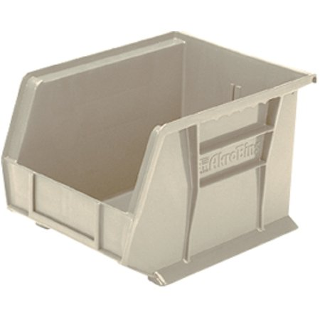AkroBins Storage Shelf Bin ''Clear, 10-3/4 L x 8-1/4 W x 7 H , 1 (Akrobins Storage Containers)