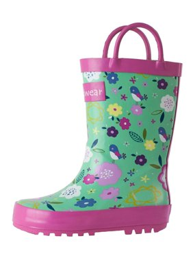 3c97f1dcf165 Product Image Oakiwear Kids Rain Boots For Boys Girls Toddlers Children